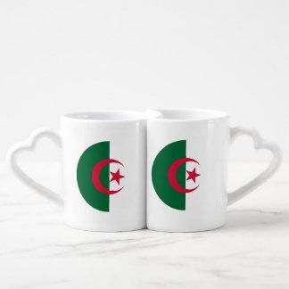Algeria Flag Coffee Mug Set