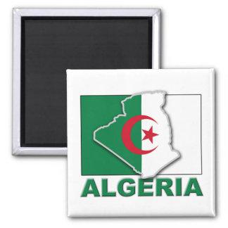 Algeria Flag Land Magnet