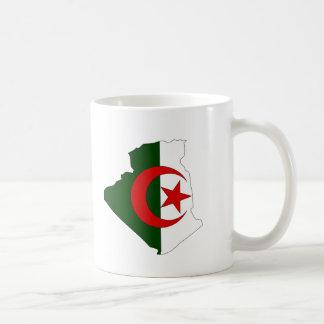 Algeria flag map mugs
