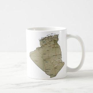 Algeria Flag ~ Map Mug