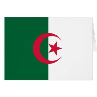 Algeria Flag Note Card