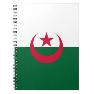 Algeria Flag Notebook