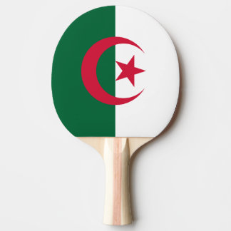Algeria Flag Ping Pong Paddle