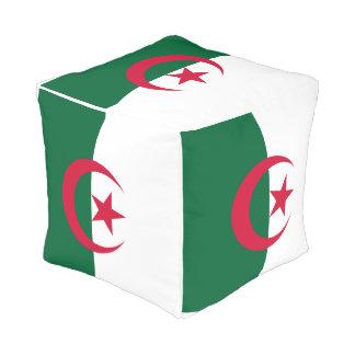 Algeria Flag Pouf