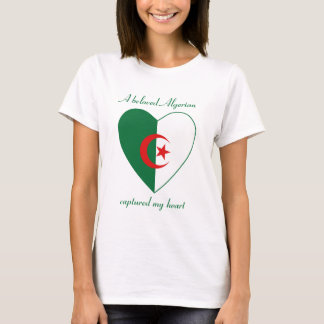 Algeria Flag Sweetheart T-Shirt