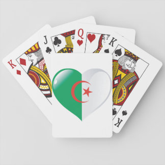 Algeria Heart Playing Cards
