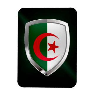 Algeria Metallic Emblem Magnet