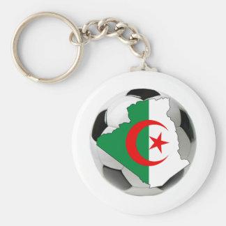 Algeria national team basic round button key ring