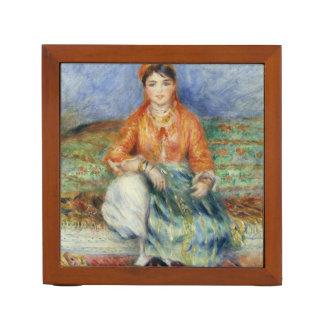 Algerian Girl by Pierre-Auguste Renoir Desk Organiser