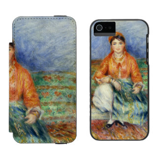 Algerian Girl by Pierre-Auguste Renoir Incipio Watson™ iPhone 5 Wallet Case