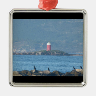 Alghero bay metal ornament