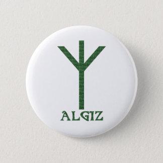 Algiz 6 Cm Round Badge