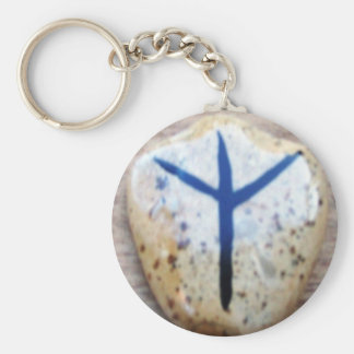 Algiz Key Ring