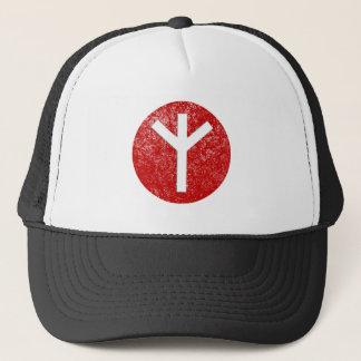 Algiz Rune Trucker Hat