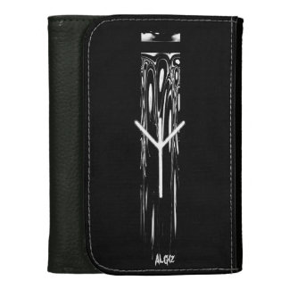 ☼ Algiz - the Rune of Protection ☼ Leather Wallet For Women