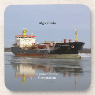 Algocanada set of 6 hard plastic coasters