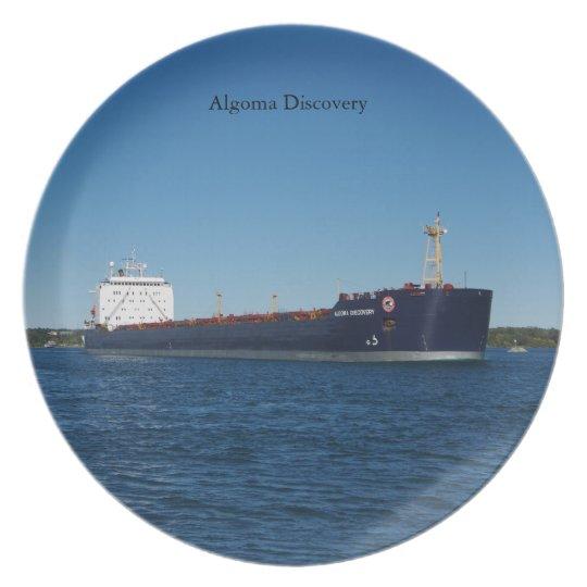 Algoma Discovery plate