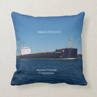 Algoma Discovery square pillow