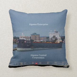 Algoma Enterprise square pillow
