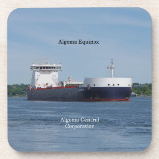 Algoma Equinox set of 6 hard plastic coasters