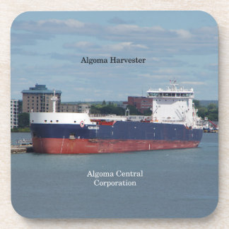 Algoma Harvester set of 6 hard plastic coasters