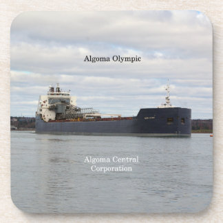Algoma Olympic set of 6 hard plastic coasters