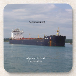 Algoma Spirit set of 6 hard plastic coasters
