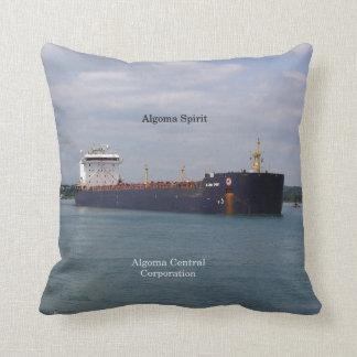 Algoma Spirit square pillow