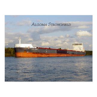 Algoma Strongfield post card