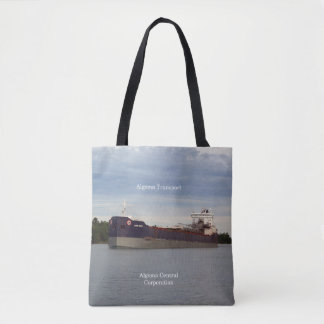 Algoma Transport all over tote bag
