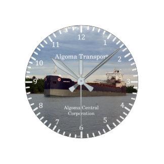 Algoma Transport clock