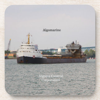 Algomarine set of 6 hard plastic coasters