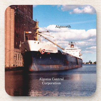 Algonorth set of 6 hard plastic coasters