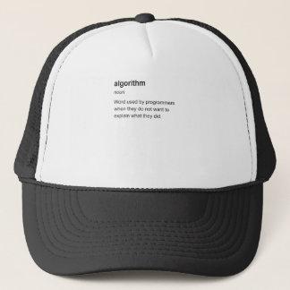 algorithm trucker hat