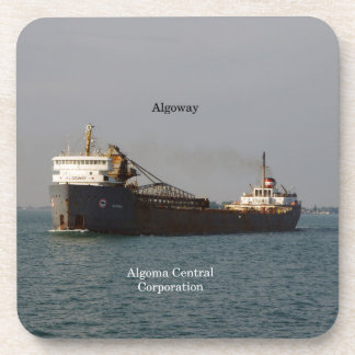Algoway set of 6 hard plastic coasters