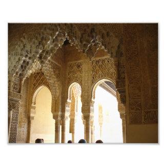 Alhambra Arches 2 - Photo Print