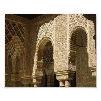 Alhambra Arches - Photo Print