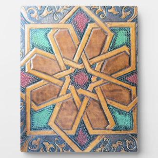 Alhambra Design #1 Plaque