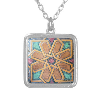 Alhambra Design #1 Silver Plated Necklace