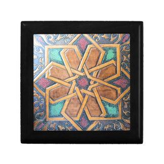 Alhambra Design #1 Small Square Gift Box
