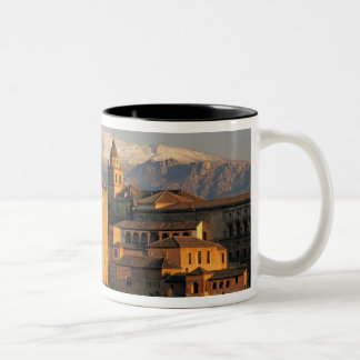 Alhambra; Granada; Andaslusia, Spain, Sierra Two-Tone Coffee Mug