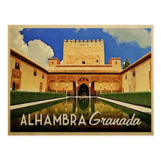 Alhambra Granada Spain Post Cards