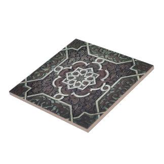 Alhambra Ornate Mosaic Design Ceramic Tile