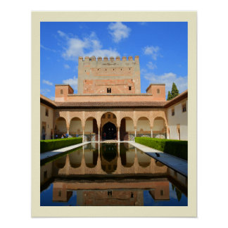 Alhambra palace poster