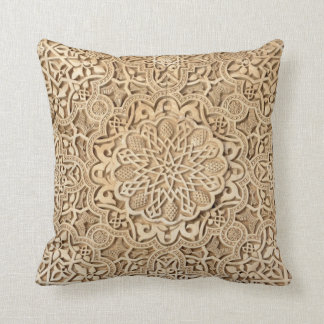 Alhambra pattern cushion