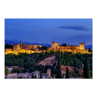Alhambra Poster