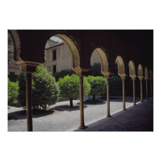 Alhambra The Palace of the Moorish Caliphs Poster