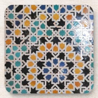 Alhambra Wall Tile #9 Coaster