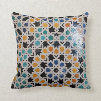 Alhambra Wall Tile #9 Cushion
