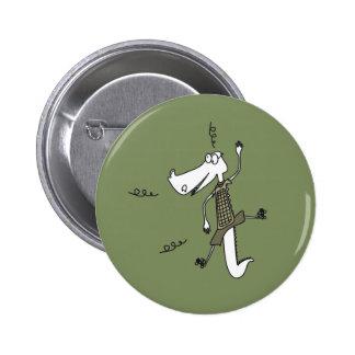 Ali Gator 6 Cm Round Badge